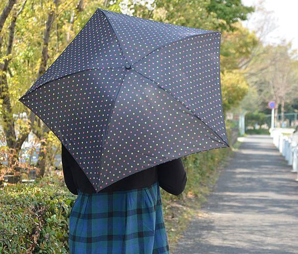超軽量の折りたたみ傘、梅雨の味方!スマホより軽いのに丈夫!?