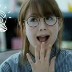 トリンドル玲奈のメガネが可愛い過ぎる!ミラココアのCMの画像!