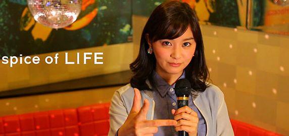 石橋杏奈がライフで凄い格好に!色々挑戦しちゃってます