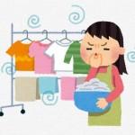 衣類の臭いの原因は洗濯槽のカビ汚れ!?柔軟剤の香りが違う!!!