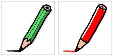 鉛筆の六角形と丸形の違い!転がらないだけじゃなかった!